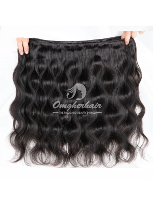 Brazilian Virgin Hair Weave Body Wave Natural Color [BB01]