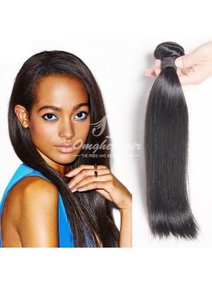 Peruvian Virgin Hair Weave Silky Straight Natural Color 100g [PS01]