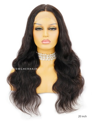 Knotless Scalp Silk Base 360 Lace Wig Body Wave [TLW03]