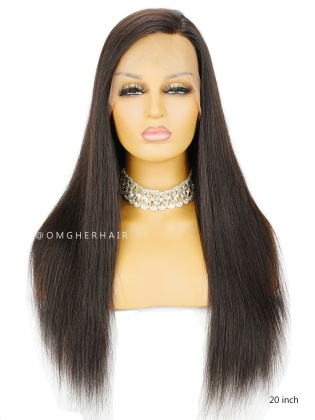Knotless Scalp Silk Base 360 Lace Wig Silky Straight [TLW01]