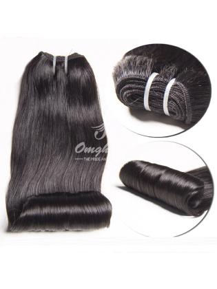 Peruvian Virgin Hair Funmi Hair Weave Aunty Curl Natural Color [PFA01]