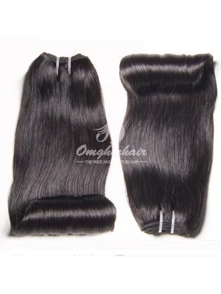 Peruvian Virgin Hair Funmi Hair Weaves Aunty Curl Natural Color 4pcs Bundles [PFA04]
