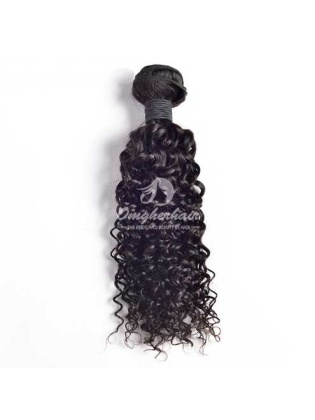 Indian Remy Hair Weave Water Wave Natural Color [IW01]