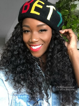 Natural Wave 360 Frontal Wig 180% Density Brazilian Virgin Human Hair Pre-Plucked [NLW05]