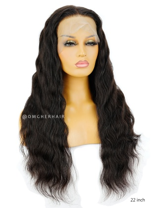 Top Quality Virgin Brazilian Hair 360 Lace Wig Body Wave Pre-plucked Hairline [NLW02]