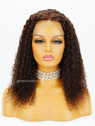 Special Offer-Water Wave Virgin Brazilian Human Hair Full Lace Wig Best Quality [WLB02]