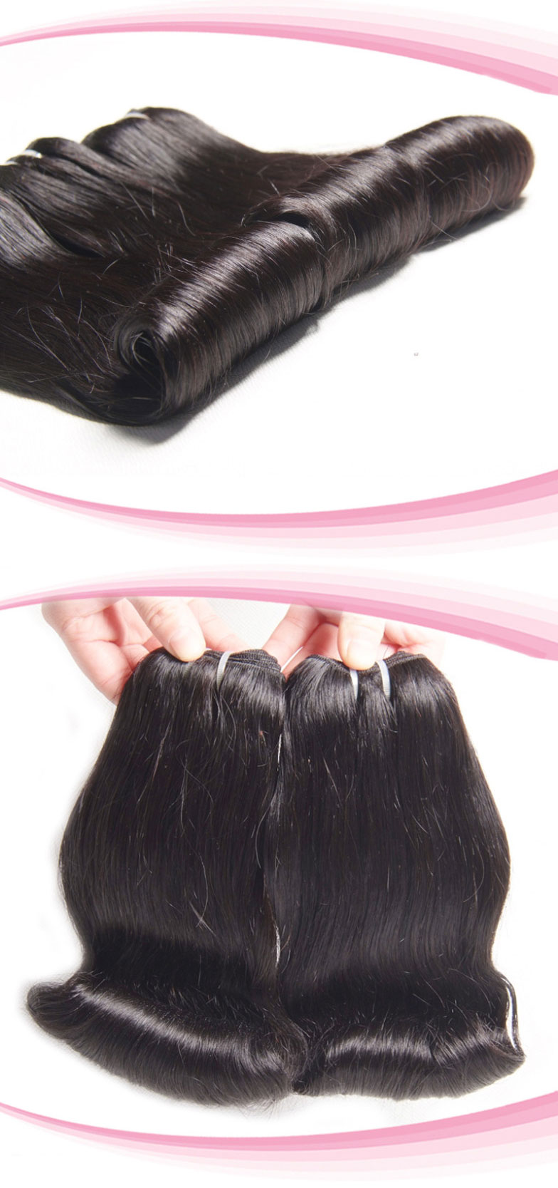 100% Peruvian Virgin Hair Weave Aunty curl