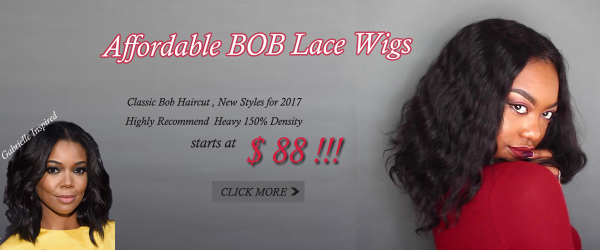 Affordable Bob Lace Wigs