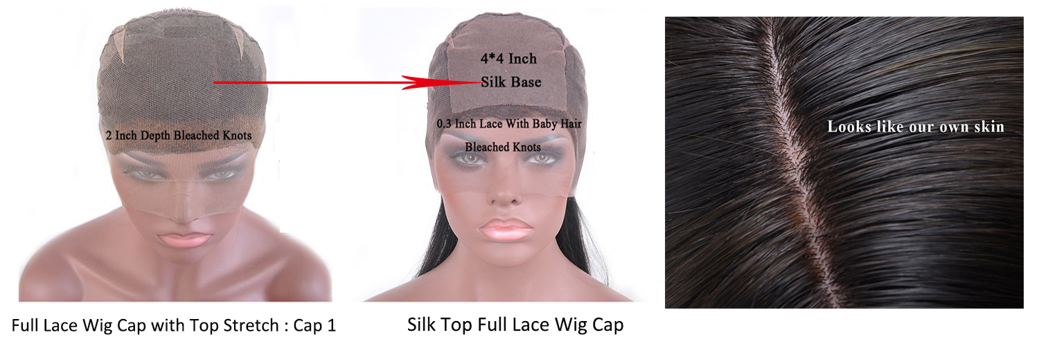 silk top full lace wig