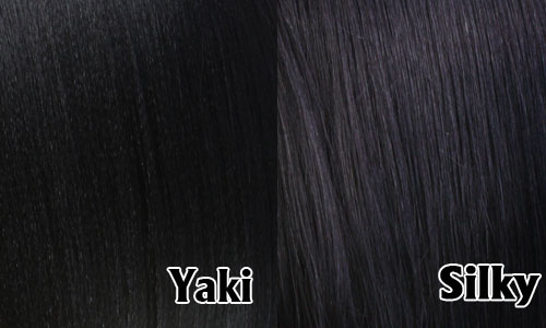 silk yaki hair