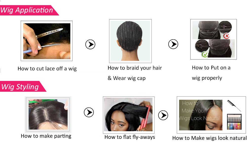 wig application